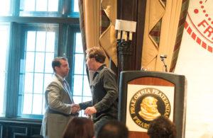 Comedian Jim Florentine and DBL Center Partner Michael Cohen